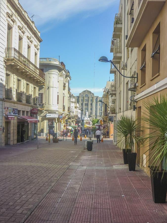Historische Mitte von Montevideo lizenzfreies stockfoto