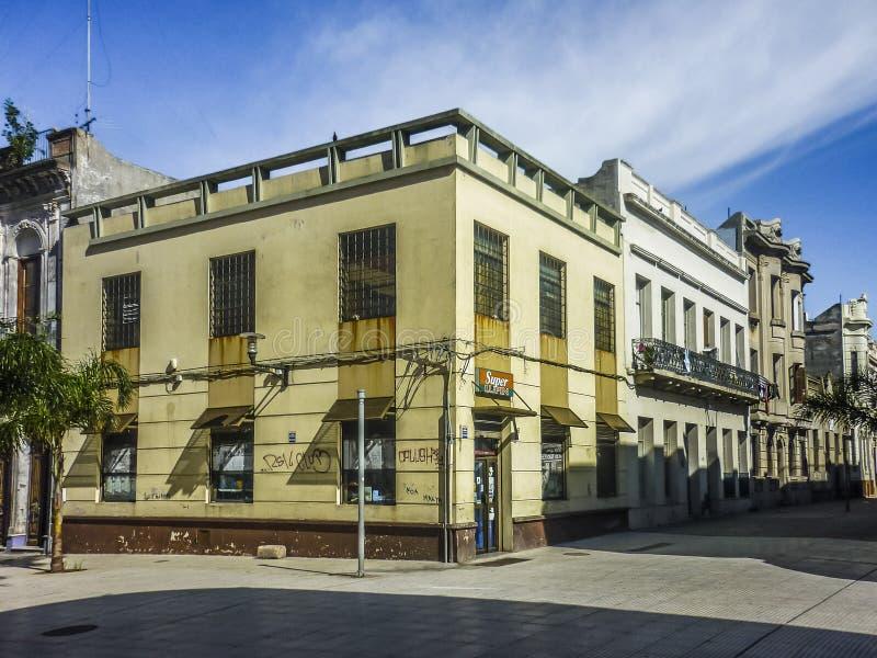 Historische Mitte von Montevideo lizenzfreie stockfotos