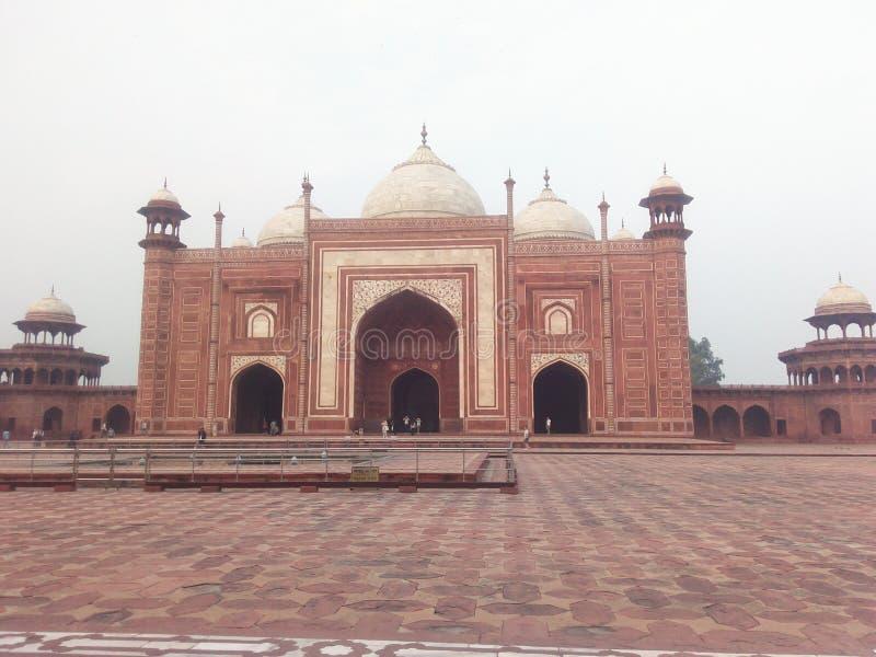 Historische plaats in India Het heeft een uniek ontwerp stock foto