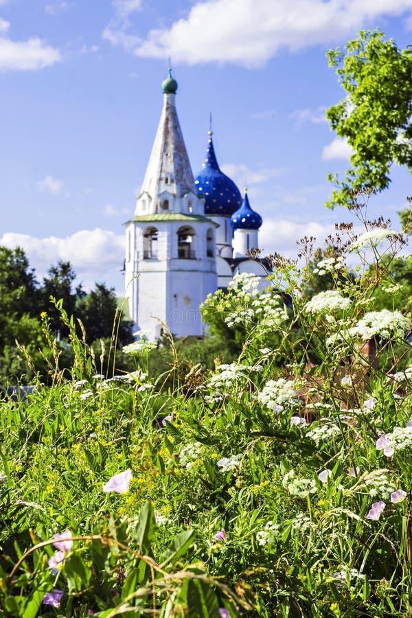 Historische plaats voor rente in Suzdal, Rusland royalty-vrije stock foto