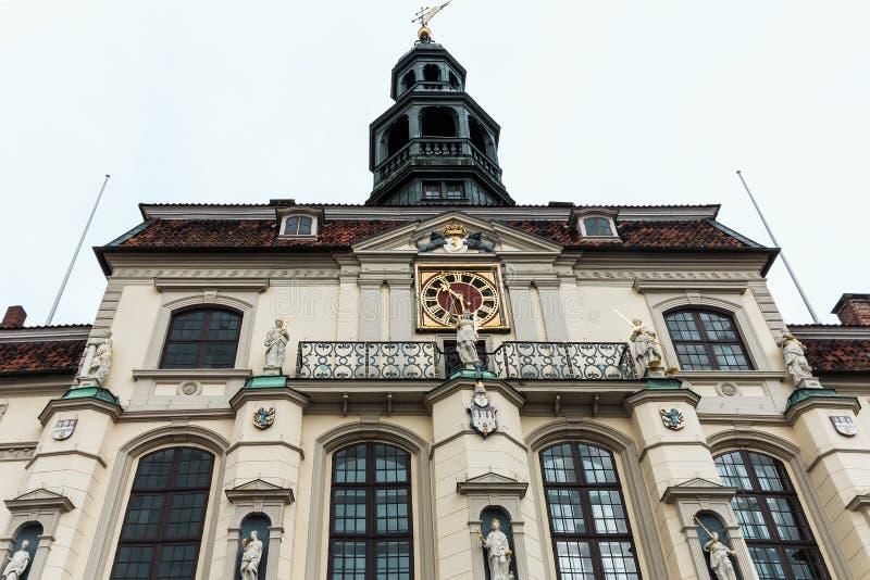 Historische Rathaus in Lueneburg, Deutschland lizenzfreies stockfoto