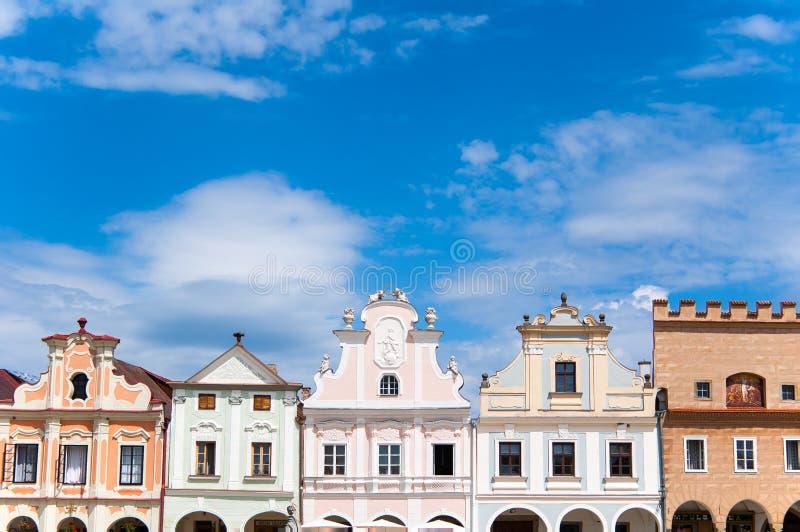 Historische stad royalty-vrije stock afbeelding