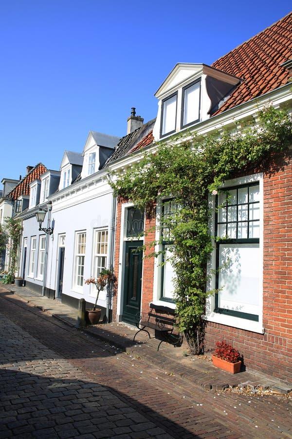 Historische stad Duurstede in de Provincie Utrecht, Nederland stock foto's