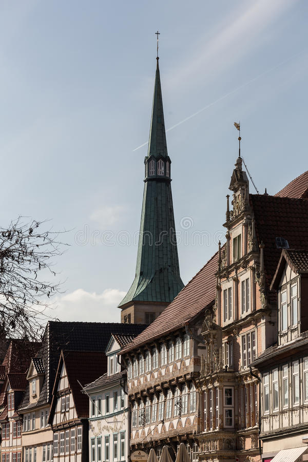 historische stad hameln Duitsland stock foto
