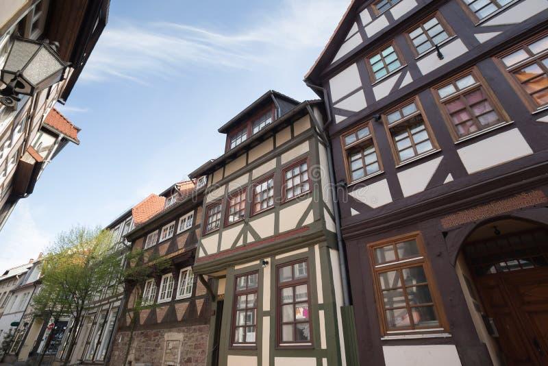 historische stad hameln Duitsland stock afbeeldingen