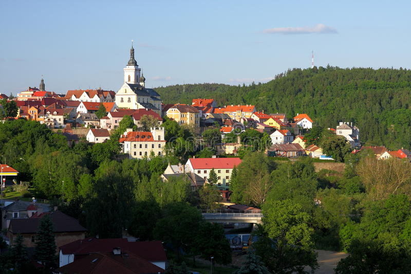 Historische Stadt stockfoto