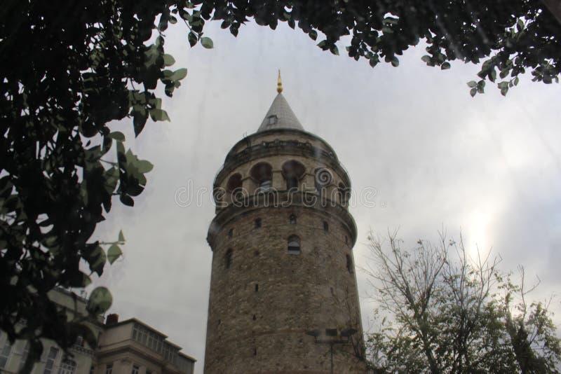 Historische Stadt gelegen in Karaköy-Bezirk von Istanbul stockfotos