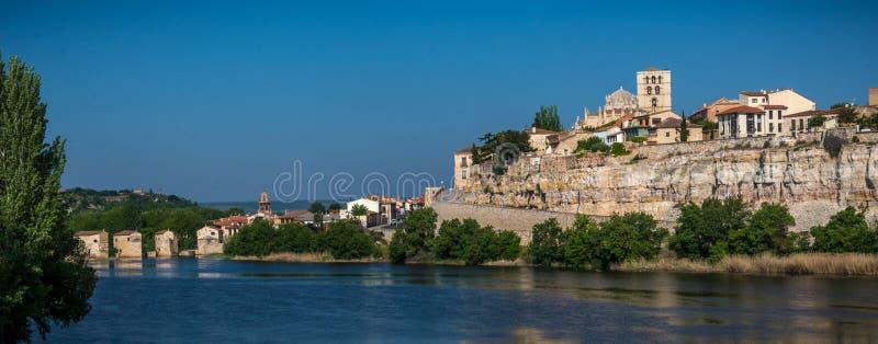 Historische Stadt von Esapña-` s cente stockbild