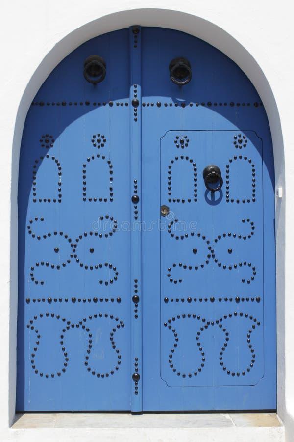 Historische Türen von Tunesien lizenzfreie stockbilder