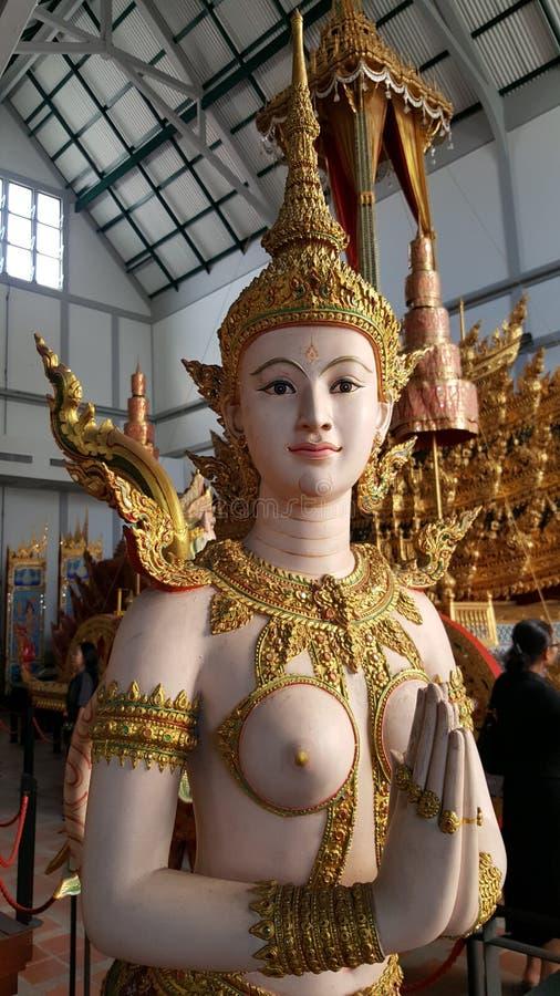 Historische Thaise engel royalty-vrije stock afbeeldingen