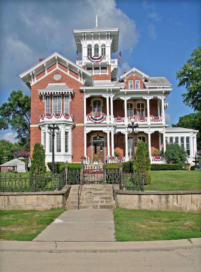 Historische Villa lizenzfreies stockfoto