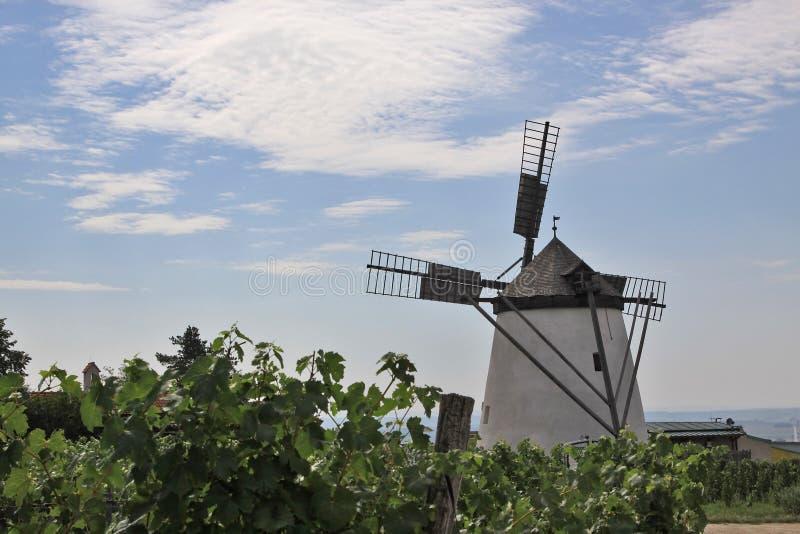 Historische Windmühle stockfoto