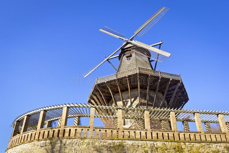 Historische Windmolen in Potsdam royalty-vrije stock foto