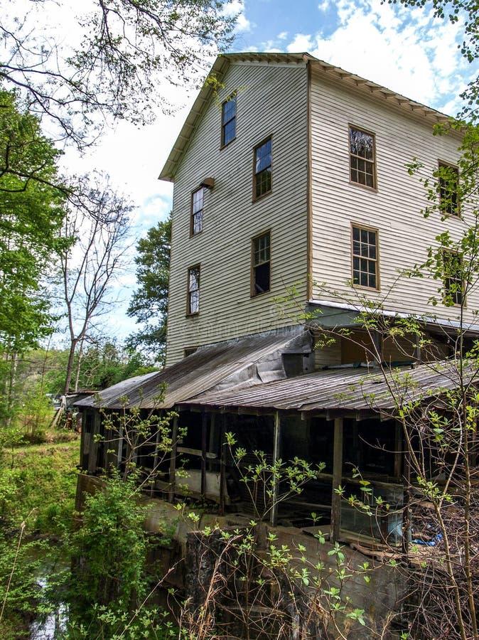 Historischen Jessups M?hle in Westfield, North Carolina stockfotos