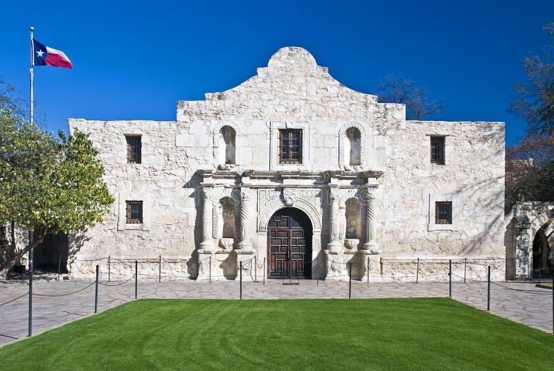Historischer Alamo San Antonio Texas lizenzfreie stockfotos