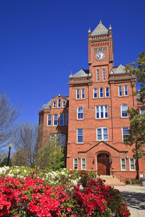 Historischer Biddle Hall bei Johnson C smith stockfotografie