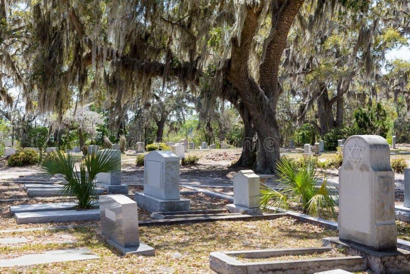 Historischer Bonaventure Cemetery stockfotografie