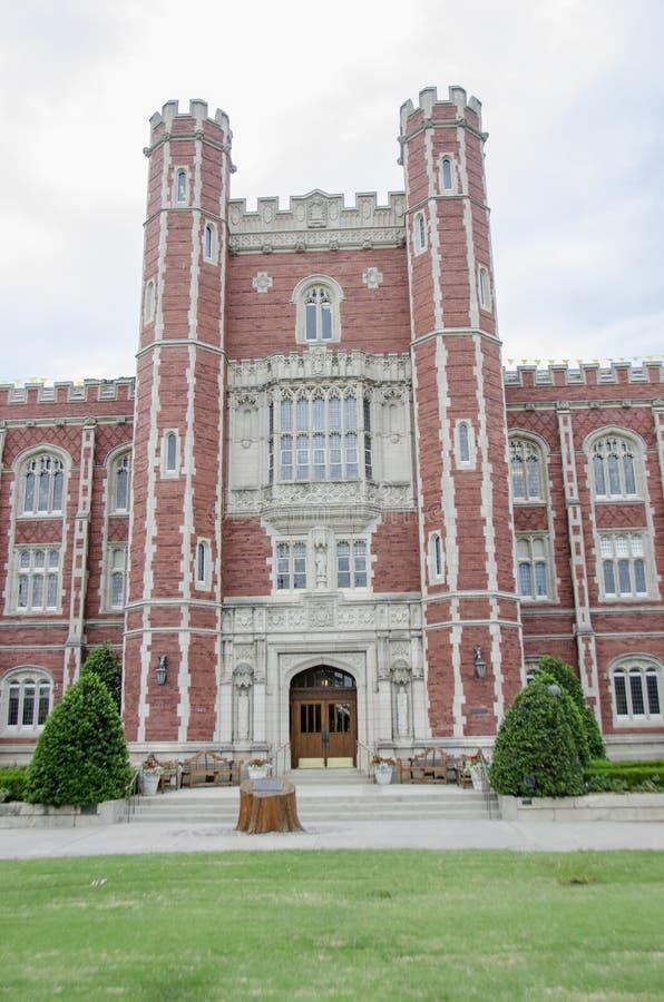 Historischer Evans Hall lizenzfreies stockbild