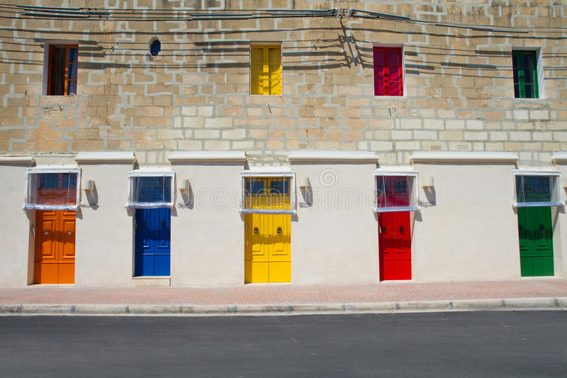 Historischer Hafen Malta-La-Vallettas stockfoto