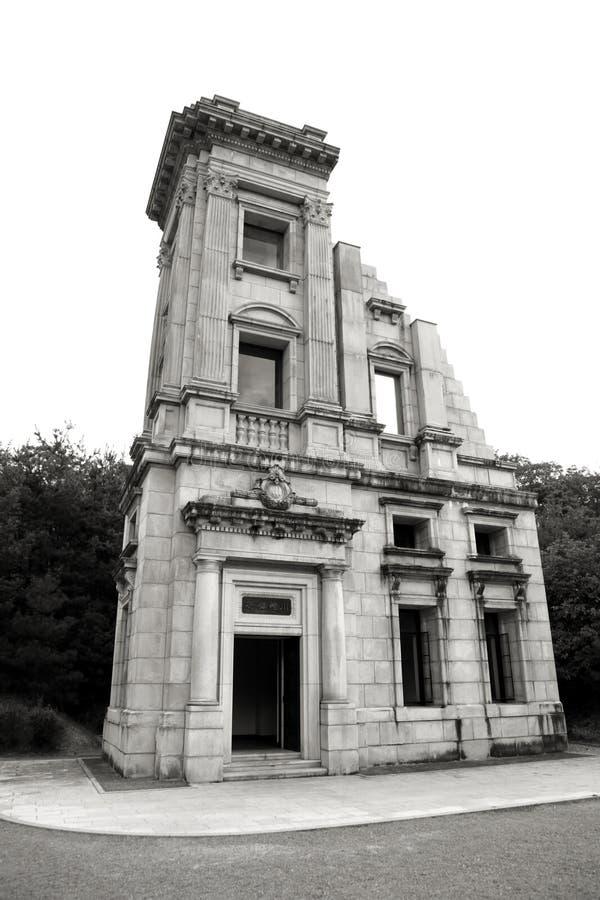 Historischer Kawasaki-Bankhauptsitz stockfotos