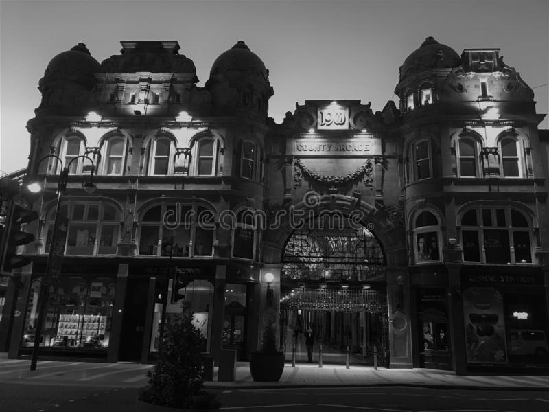 Historischer Palast, Leeds, Vereinigtes Königreich stockfotografie