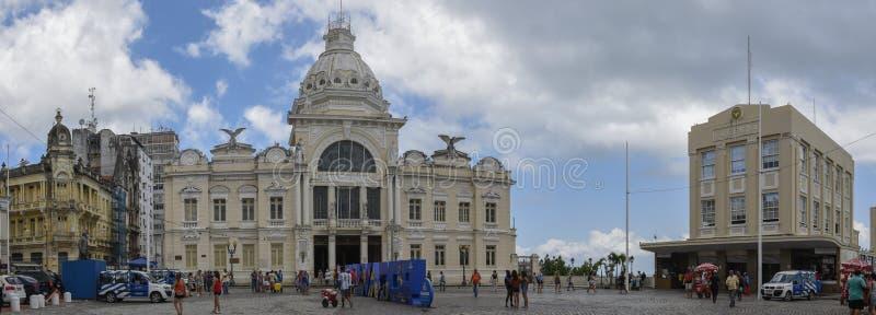 Historischer Palast Rio Brancos bei Salvador Bahia auf Brasilien lizenzfreie stockfotos