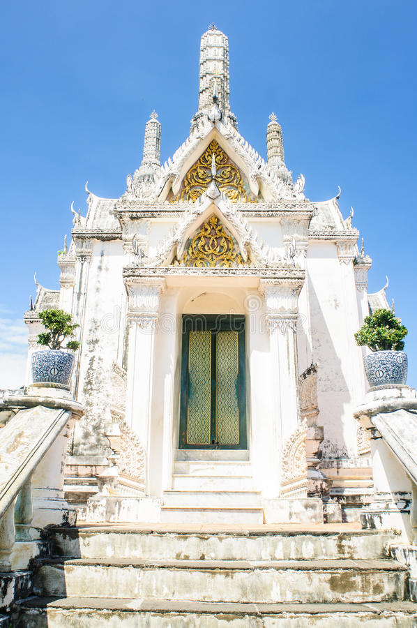Historischer Park in Phetchaburi, Thailand lizenzfreie stockfotos