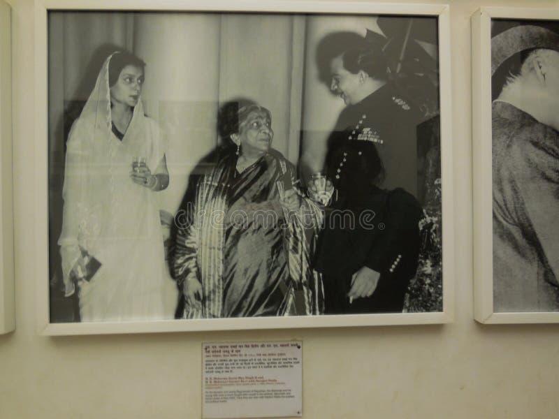 Historischer pic von Rajeev Gandhi und von Sonia Gandhi stockbilder