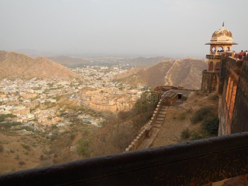 Historischer Platz in Indien stockbilder