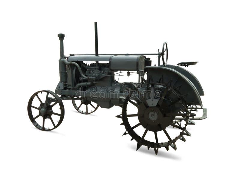 Historischer Traktor lizenzfreie stockfotografie
