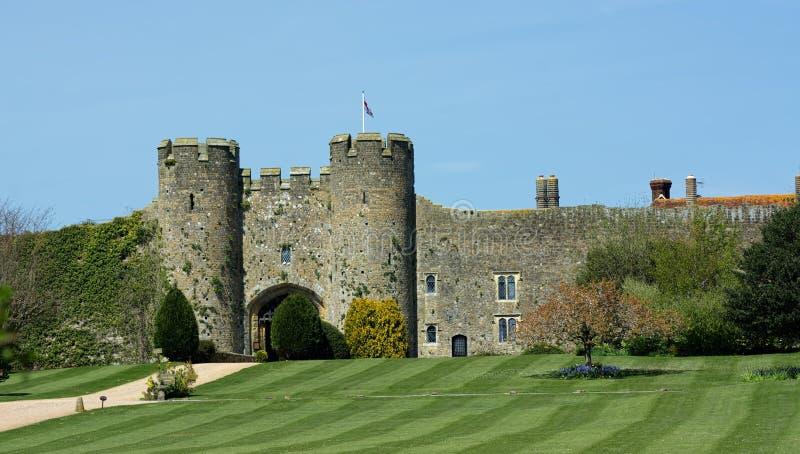 Historisches Amberley-Schloss stockfotografie