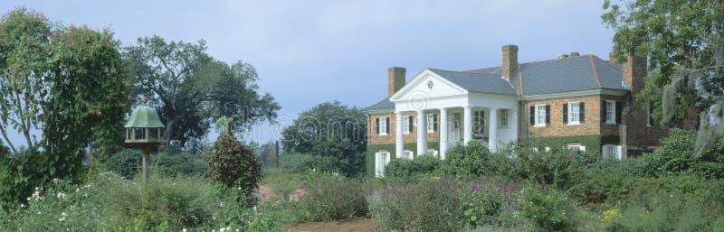 Historisches Boone Hall lizenzfreies stockbild