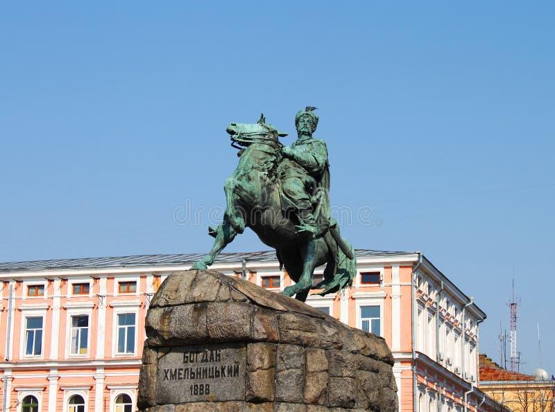 Download Historisches Denkmal Zum Hetman Bogdan Khmelnitsky Stockbild - Bild von ernstlich, anziehung: 27727819