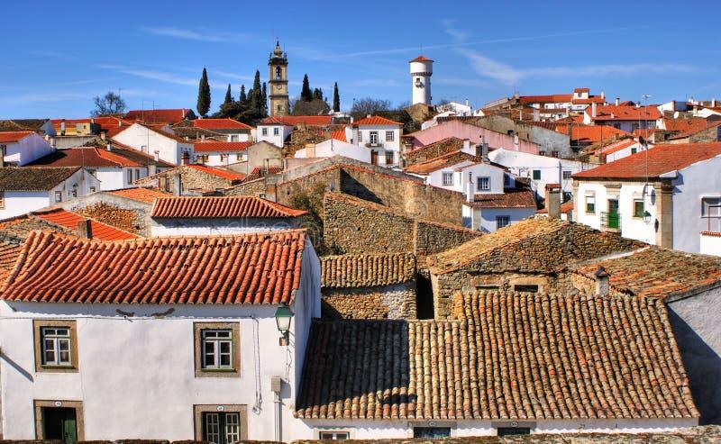 Historisches Dorf Almeida lizenzfreie stockfotos