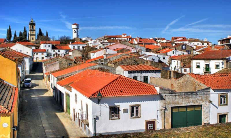 Historisches Dorf Almeida stockbild
