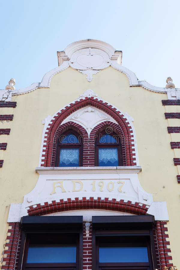 Historisches Gebäude in Heerlen, die Niederlande lizenzfreies stockbild