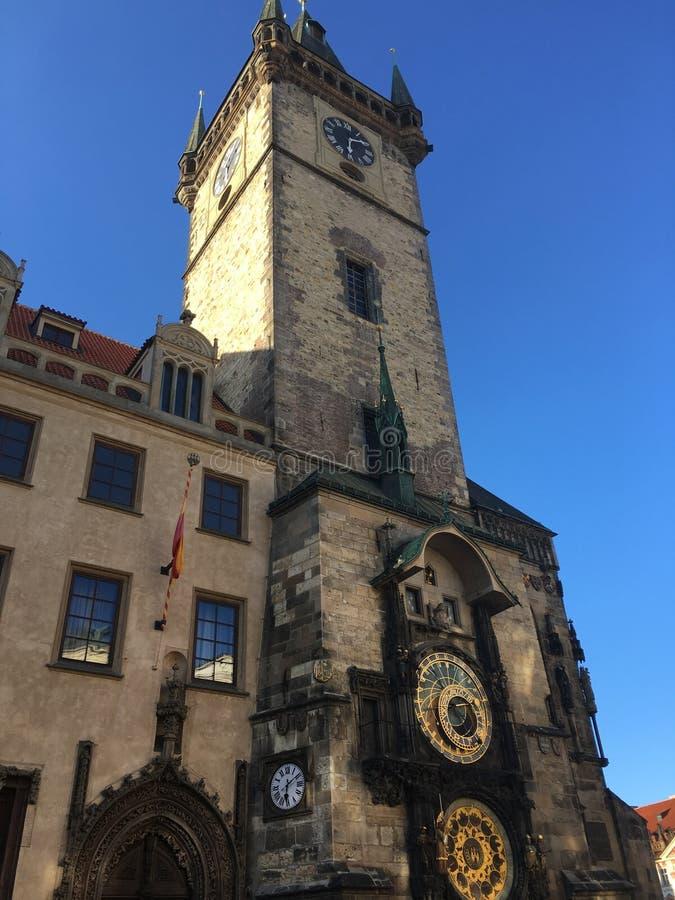 Historisches Gebäude in Tschechischer Republik Prags lizenzfreie stockbilder