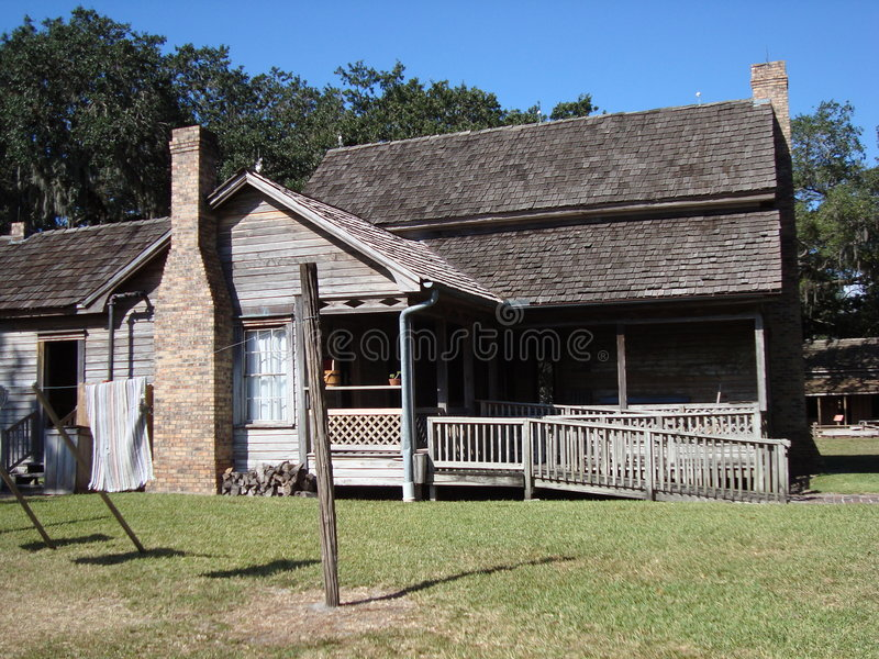 Historisches Haus stockfoto