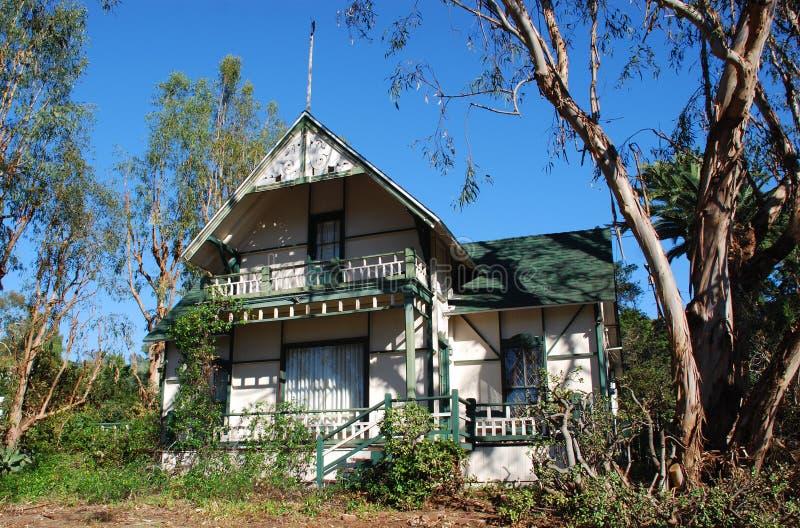 Historisches Haus Im Laguna Beach, Kalifornien Stockbild ...  Historisches Ha...