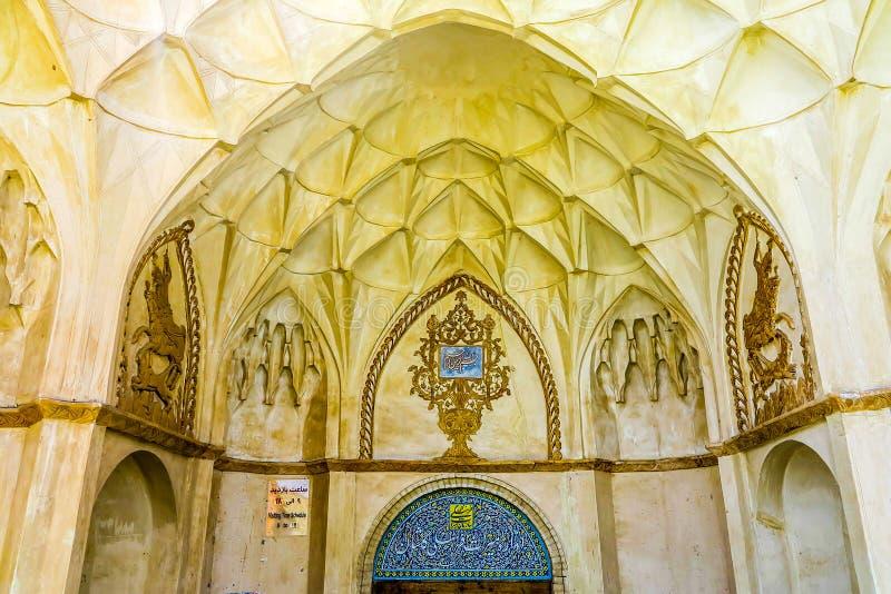Historisches Haus 01 Kashan Boroujerd stockfoto