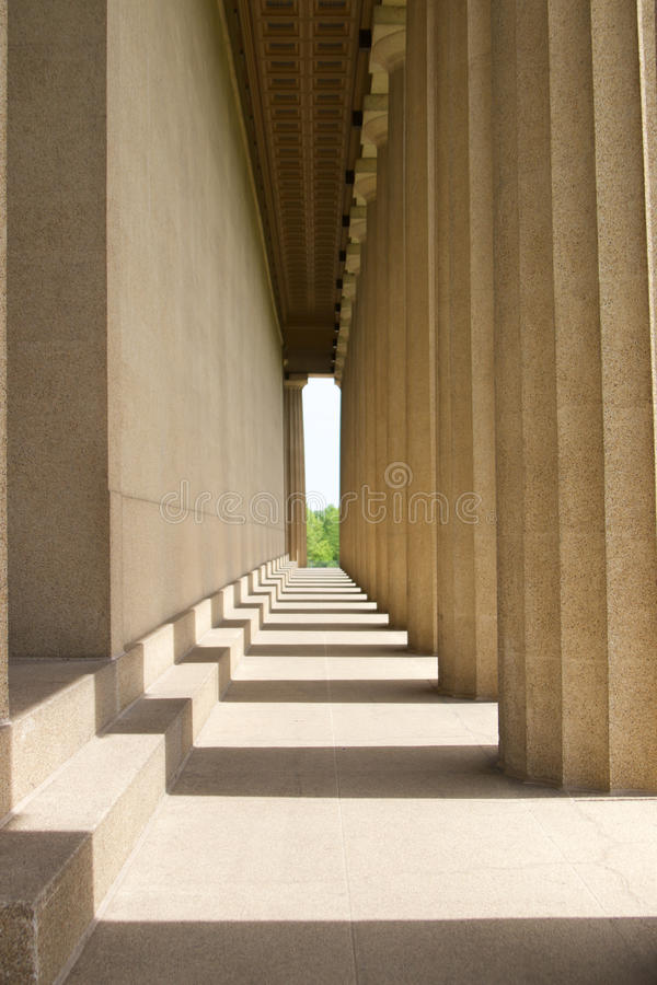 Historisches Parthenon-Gebäude an Vanderbilt-Universität lizenzfreie stockfotos