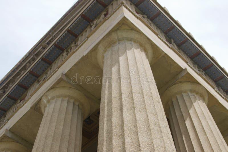 Historisches Parthenon-Gebäude an Vanderbilt-Universität stockbild