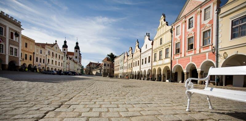 Historisches Quadrat, Tschechische Republik lizenzfreie stockbilder