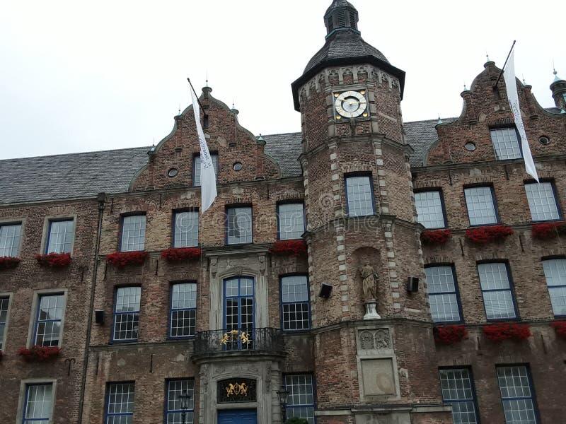 Historisches Rathaus Düsseldorf Altstdt Германия стоковая фотография rf