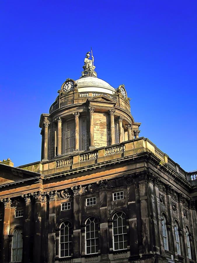 Historisches Rathaus in Liverpoo lizenzfreie stockfotografie