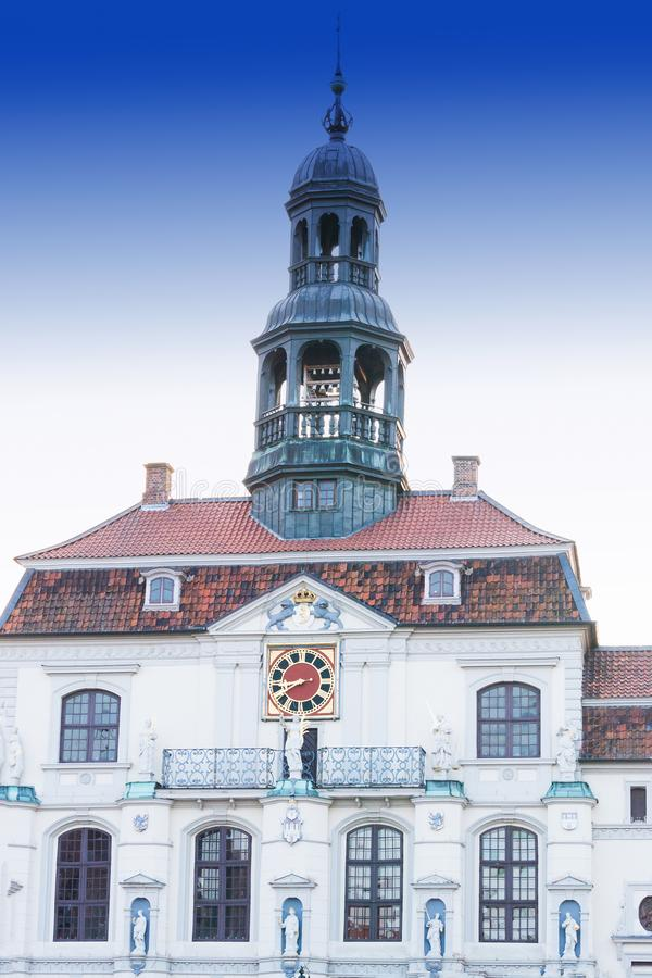 Historisches Rathaus in Lueneburg lizenzfreie stockfotografie
