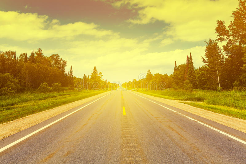 Historisches Route 66 lizenzfreies stockbild