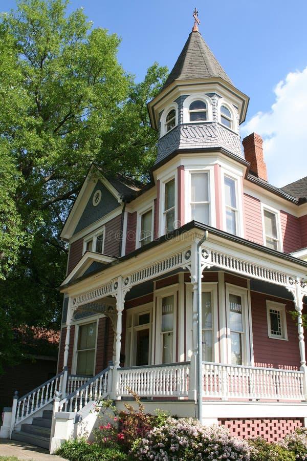 Historisches Viktorianisches Haus Lizenzfreie Stockfotos
