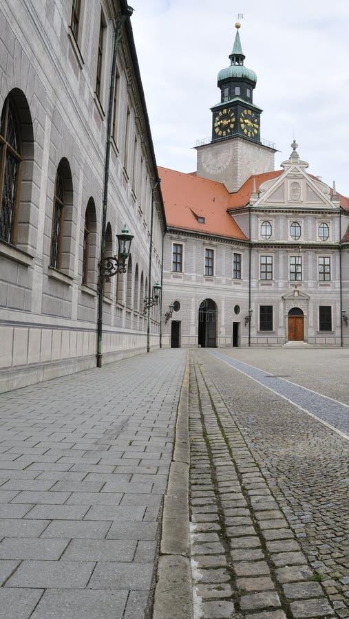 Historisk borggård royaltyfri fotografi