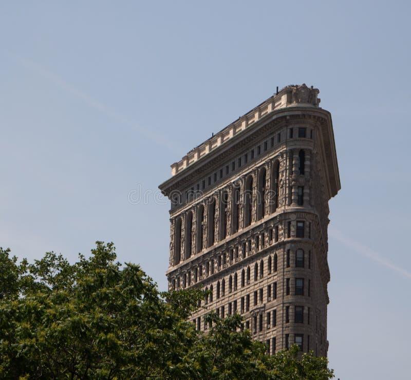 Historisk byggnad i New York City royaltyfria bilder